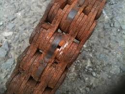 rusty liftchain